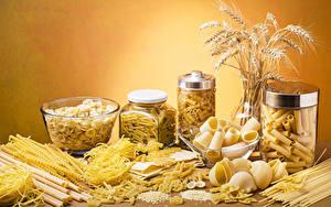 Hintergrundbilder Makkaroni Weckglas Ähren das Essen