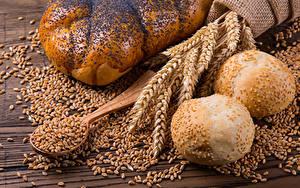 Hintergrundbilder Backware Brötchen Weizen Ähre Getreide Löffel Lebensmittel