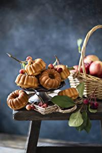 Hintergrundbilder Backware Kirsche Keks das Essen