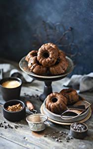 Fotos Backware Schokolade Keks das Essen