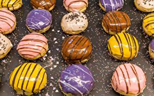Hintergrundbilder Backware Törtchen Schokolade Zuckerguss