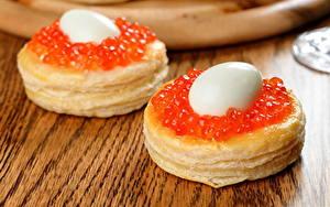 Hintergrundbilder Backware Meeresfrüchte Caviar Ei das Essen
