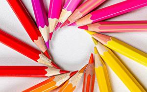 Hintergrundbilder Bleistift Bunte Rot Gelb Rosa Farbe Orange
