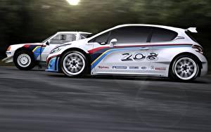 Hintergrundbilder Peugeot Fahrendes Seitlich 208 T16 Sport Autos