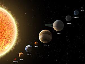 Fotos Planeten Mars Saturn Planet Sonne Jupiter Uranus Neptune Earth Venus Mars Mercury Kosmos 3D-Grafik