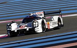 Hintergrundbilder Porsche Fahrzeugtuning Hybrid Autos 2015 Porsche 919 Hybrid auto Sport