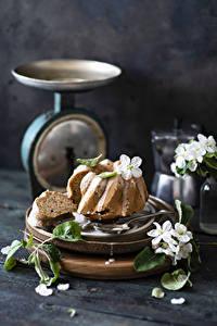 Fotos Keks Zuckerguss Stillleben Lebensmittel