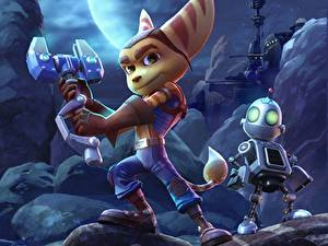 Fotos Roboter Ratchet and Clank 2015