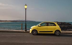 Fotos Renault Straßenlaterne Seitlich Gelb Twingo Concept, 2019 auto