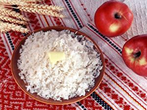 Bilder Reis Teller Öle Lebensmittel