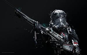 Bilder Gewehre Star Wars  - Film Helm Adam Spizak, Stormtrooper Fantasy