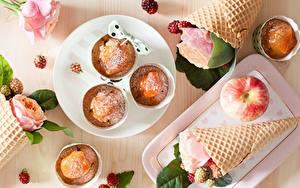 Fotos Rose Keks Äpfel Cornet