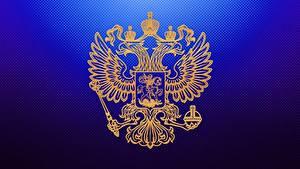 Hintergrundbilder Russland Doppeladler Герб Russische