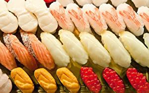 Fotos Meeresfrüchte Fische - Lebensmittel Kaviar Lebensmittel