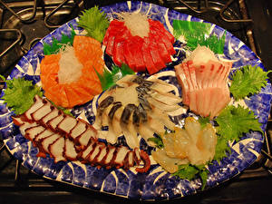 Pictures Seafoods Fish - Food Sliced food Food