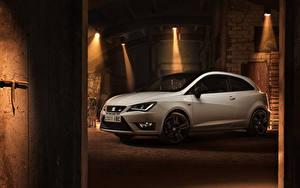 Hintergrundbilder Seat Weiß 2015 Seat Ibiza Cupra automobil
