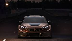 Images Seat Front Brown Carbon fiber Headlights Leon, Competition, Cupra, 2020