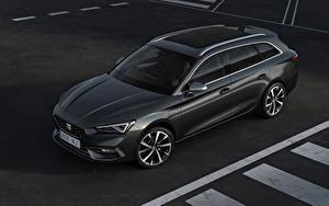Image Seat Station wagon Black Metallic Leon ST, 2020 Cars
