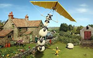 Bilder Flug Shaun the Sheep Movie Zeichentrickfilm