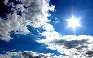 Hintergrundbilder Himmel Wolke Sonne