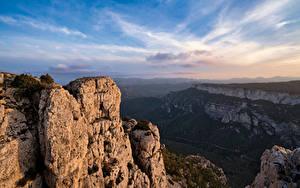 Hintergrundbilder Spanien Berg Felsen Catalonia