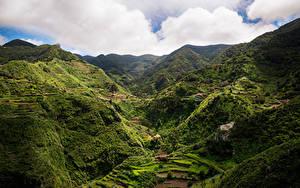 Fotos Spanien Gebirge Acker Tenerife, Macizo de Anaga Natur