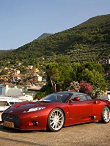 Fotos Spyker Rot Metallisch 2009 C8 Aileron Prototype Autos