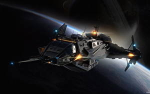 Picture Star Citizen Starship Games Fantasy Space