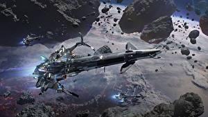 Hintergrundbilder Raumschiff Star Conflict Flug Spiele