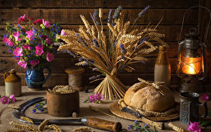 Hintergrundbilder Stillleben Brot Petroleumlampe Sträuße Schmuckkörbchen Spitzen Becher Lebensmittel