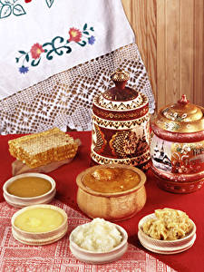 Hintergrundbilder Stillleben Honig das Essen