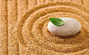 Fotos Steine Hautnah Sand Kreis zen