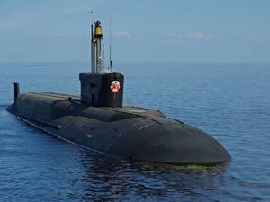 Hintergrundbilder U-Boot Russisches  Militär
