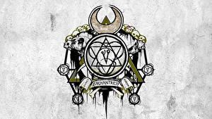 Hintergrundbilder Suicide Squad 2016 Logo Emblem Tätowierung Enchantress Film