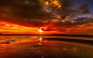 Hintergrundbilder Sonnenaufgänge und Sonnenuntergänge Wolke Sonne Natur