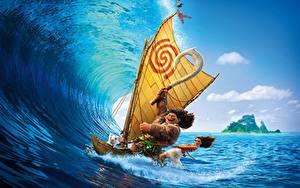 Fonds d'écran Surf Vagues Mer Vaiana : La Légende du bout du mond Maui