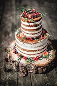 Bilder Süßigkeiten Torte Beere Design