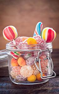 Hintergrundbilder Süßware Bonbon Dauerlutscher Einweckglas