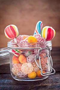 Hintergrundbilder Süßigkeiten Bonbon Dauerlutscher Weckglas Lebensmittel