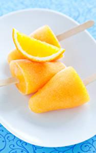 Hintergrundbilder Süßware Speiseeis Orange Frucht Gelb Lebensmittel