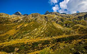 Desktop hintergrundbilder Schweiz Berg Alpen  Natur