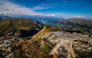 Hintergrundbilder Schweiz Berg Himmel Alpen Felsen