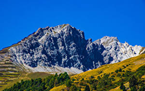 Hintergrundbilder Schweiz Gebirge Himmel Felsen