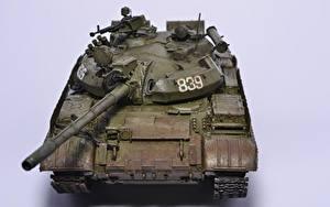 壁纸、、戦車、玩具、ロシアの、T-55、陸軍