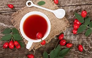Papéis de parede Chá Chávena Fruta rosa selvagem Alimentos