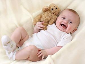 Picture Teddy bear Baby Joy Children