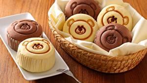Hintergrundbilder Teddybär Keks das Essen