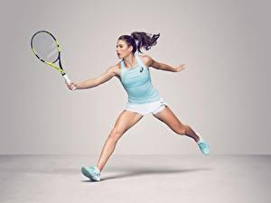 Hintergrundbilder Tennis Bein Unterhemd British WTA Johanna Konta Sport Mädchens