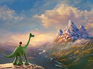 Bilder Arlo & Spot Gebirge Zeichentrickfilm