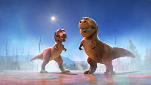 Fotos Arlo & Spot Dinosaurier Zwei